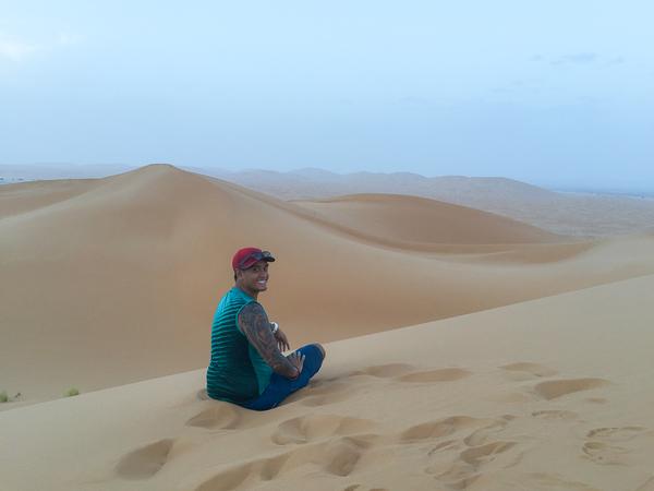The Sahara Desert made me feel like I was in Mars