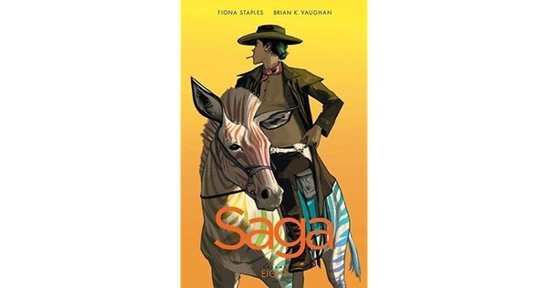 """Saga"" Vol. 8 - Brian K. Vaughan and Fiona Staples"