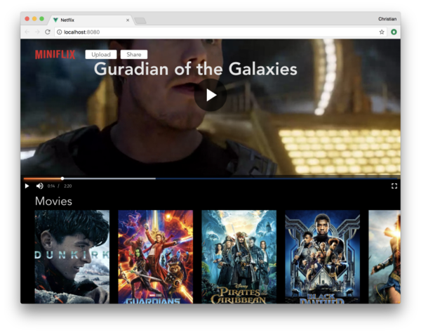 Build a Mini Netflix Clone with Vue – Cloudinary