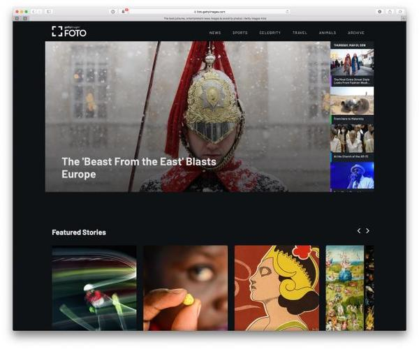 Getty Images ist im Wandel von einer reinen Bilderdatenbank zum Publisher