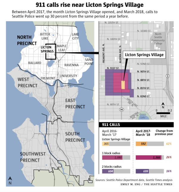 Mapping by the Seattle Times