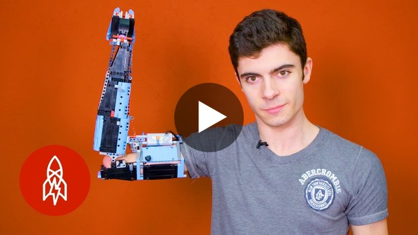 Building a Prosthetic Arm With Lego - YouTube