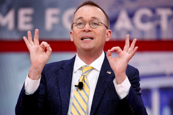 """Mick Mulvaney: """"If you're a lobbyist who gave us money, I might talk to you."""" (foto: Reuters)"""