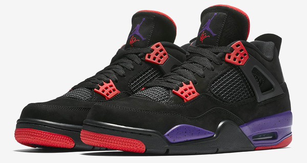 "Air Jordan 4 ""Raptors"" Official Images"