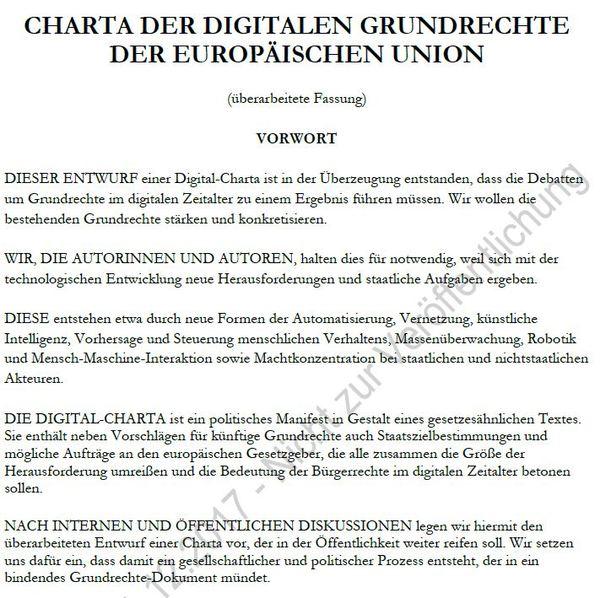 Die Digital-Charta ist zurück und sie will noch immer Verfassung sein - Das letzte Wort