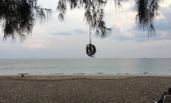 An overcast day on Koh Lanta, Thailand, where I'm currently staying