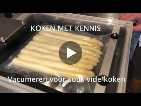 vacumeren voor sous vide koken - YouTube