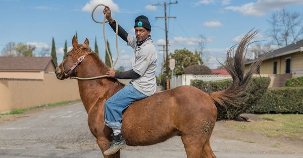 For the Compton Cowboys, Horseback Riding Is a Legacy, and Protection  - The New York Times