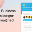 The Business Messenger Reinvented