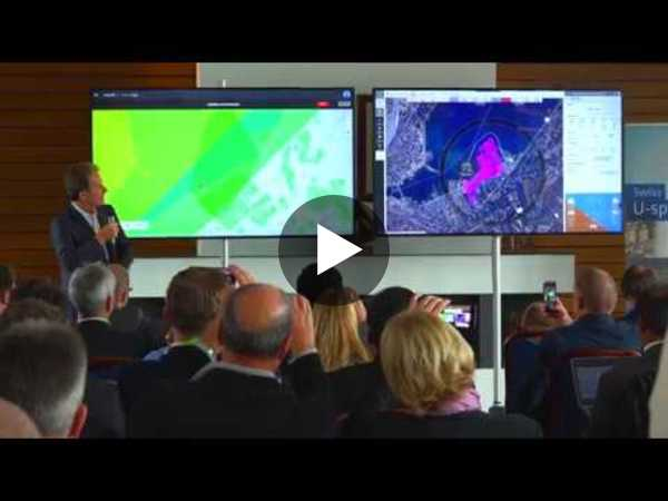 Swiss U-space demonstrator run-through powered by AirMap