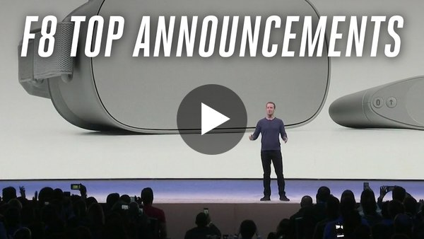 F8 2018: Facebook's top announcements - YouTube