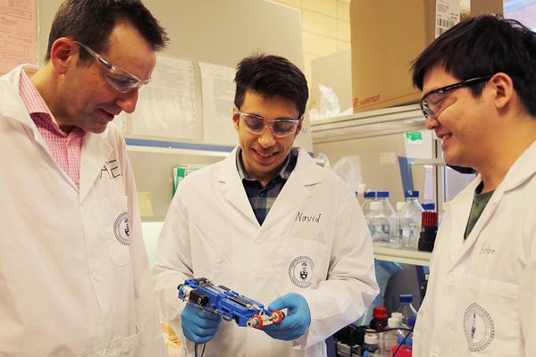 Kanadische Forscher haben ein Gerät entwickelt, mit dem sich Wunden in 2 Minuten reparieren lassen