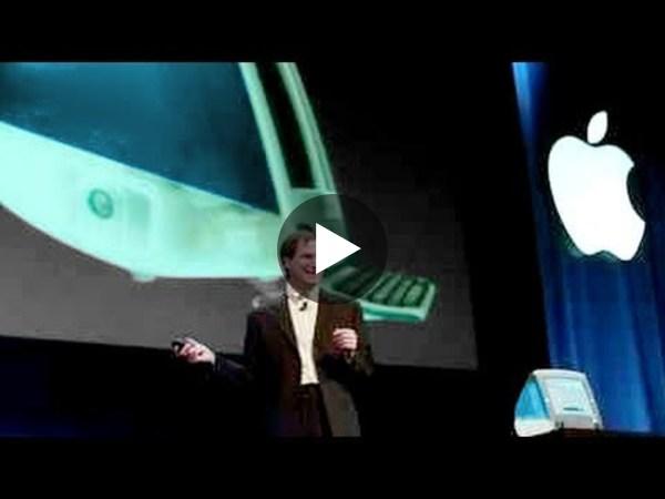 Steve Jobs introduces the Original iMac