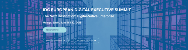 IDC EUROPEAN DIGITAL EXECUTIVE SUMMIT - June 11-12