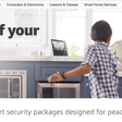 Amazon is now selling home security services, including installations and no monthly fees – TechCrunch