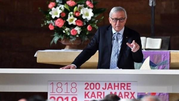 """Predseda Európskej komisie Jean-Claude Juncker: """"Návrh rozpočtu Komisie je veľmi rozumný a zodpovedný"""". Foto prebraté z Twitter"""