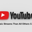 Music Played More Often On YouTube Than All Other Platforms Combined