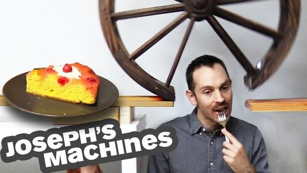 The most delightful Rube Goldberg machine