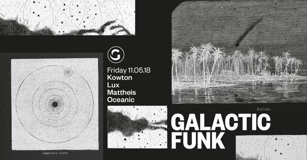 Galactic Funk aan het plein