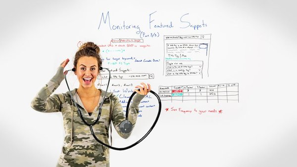 Monitoring Featured Snippets - Whiteboard Friday - Moz