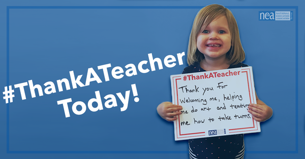 Thank You, Teachers! - NEA Today
