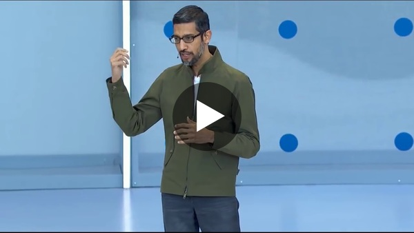Google Duplex Demo from Google IO 2018 - YouTube
