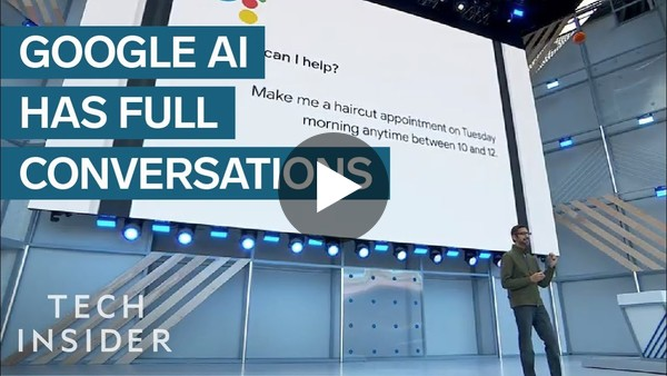 New Google AI Can Have Real Life Conversations With Strangers - YouTube