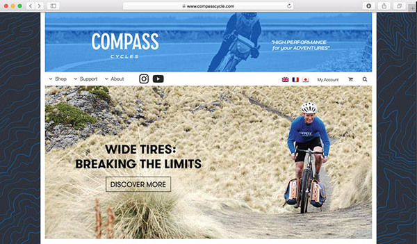 Compass has a new web site