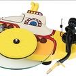 Geniet van je favoriete muziek op deze Yellow Submarine platenspeler