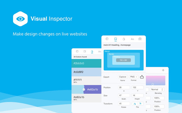 Visual Inspector - Chrome extension to make instant changes