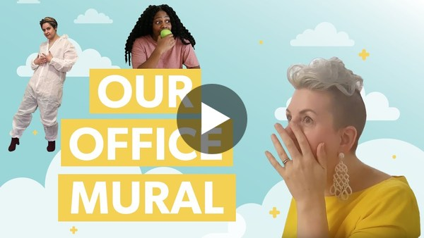 We Let Our Millennial Employees Paint a Mural...here's what happened next! - YouTube