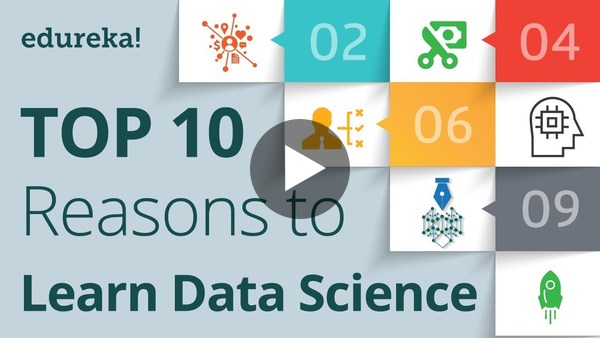 Top 10 Reasons to Learn Data Science | Why Become Data Scientist? | Data Science Training | Edureka - YouTube