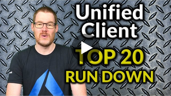 PowerApps Unfiied Client Top 20 Count Down - May 2018 - YouTube