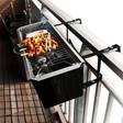 WANT! Met deze Balkon BBQ kan je lekker op je balkon barbecueën