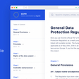 GDPR made searchable by Algolia