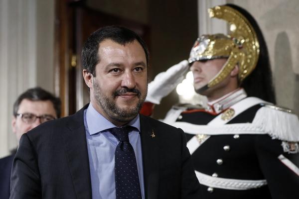 Salvini de leider van Lega