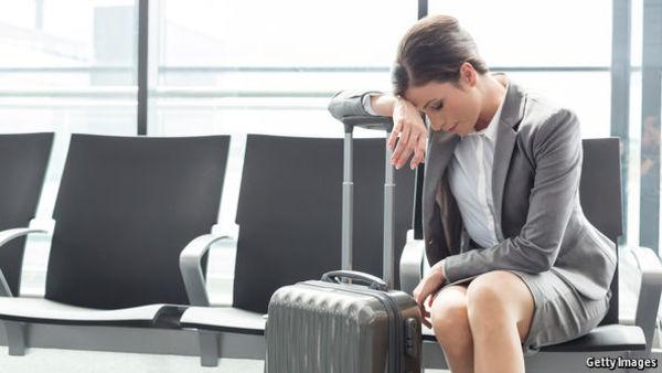 Studie zu Business-Reisen: Frauen buchen früher, sind aber gestresster