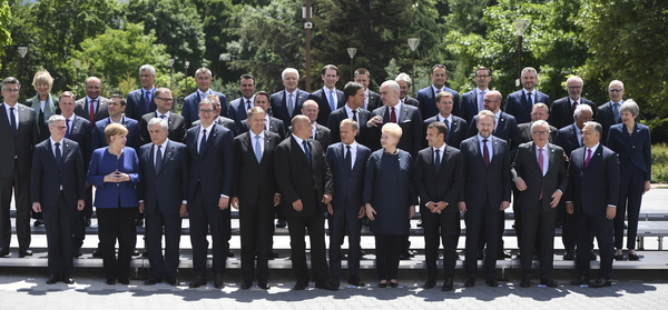 De hele EU op de foto
