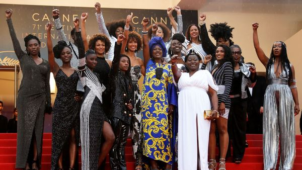 Black actresses protest racism in French film industry