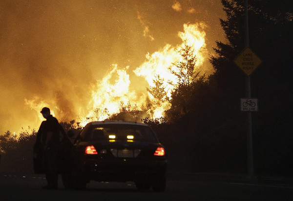 Video from California fires shows harrowing escapes | Central MO Breaking News