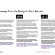 Design in Tech Report 2018