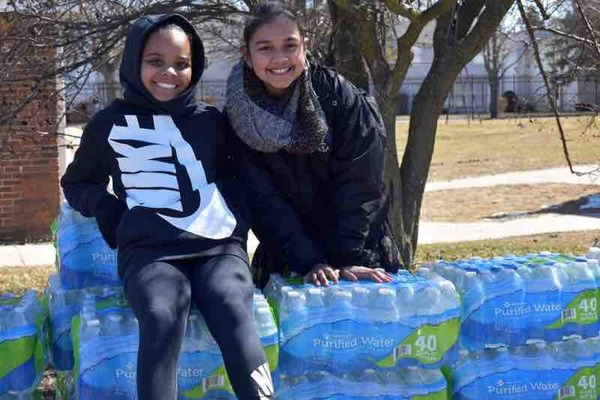 Fundraiser by Pack Your  Back : Little Miss Flint & PYB Water Drive*