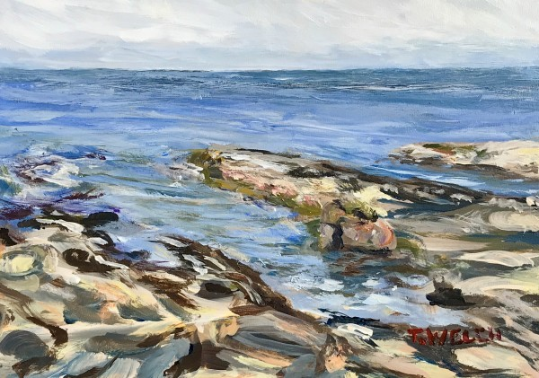 Reach out into the Salish Sea by Terrill Welch  | Artwork Archive