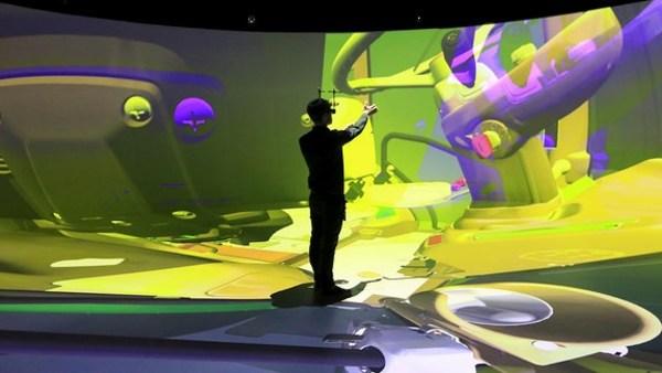 In Deutschland steht jetzt die größte 3D-Projektionshalle Europas