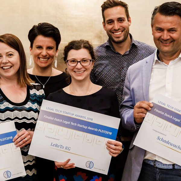 Finalists Legal Tech Startup Awards selected   Dutch Legal Tech