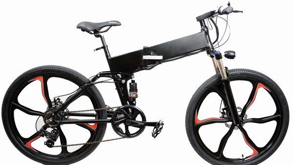De Lizard bike: elektrische fiets en vouwfiets in één