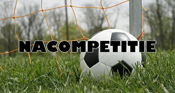 Programma en uitslagen nacompetitie (regioclubs) zaterdag en zondag