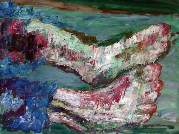 Wounded feet 2012