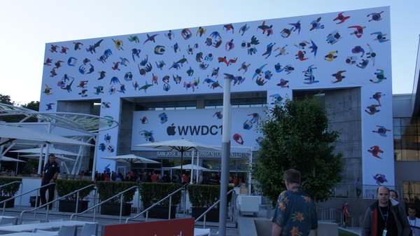 This year's WWDC will also be held at the McEnery Convention Center
