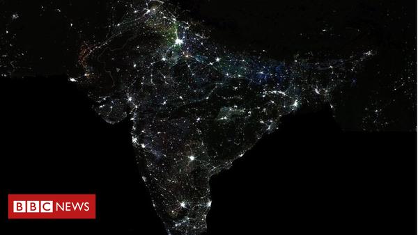 Die Ungleichheit in Indien ist jetzt so groß, dass man sie aus dem All sehen kann